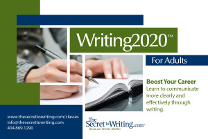 Writing2020 for Adults