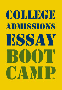 College Admissions Essay Boot Camp