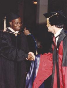 Graduation from UCLA